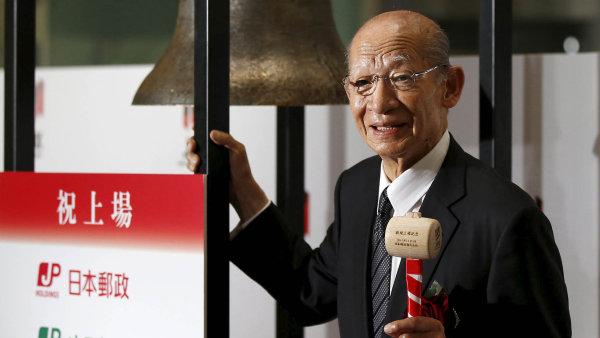Nejv�t�� IPO leto�n�ho roku obstarala Japan Post.
