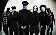 Na snímku Hollywood Undead.