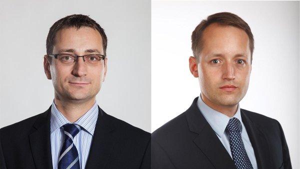 Pavel Vraný a Jan Šturm