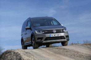 VW Caddy Alltrack: Pro rodinu i jen tak na parádu