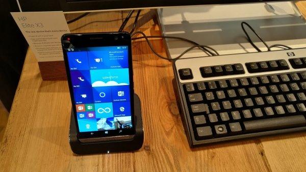 HP Elite x3 s Windows 10 Mobile