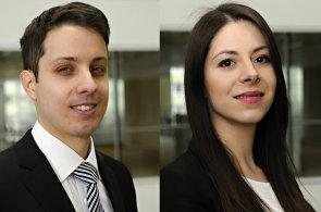 Jaroslav Srb a Nina Valešová, mezinárodní advokátní kancelář PwC Legal