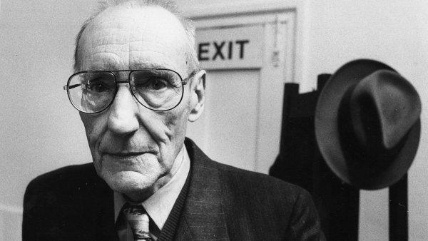 William S. Burroughs na archivním snímku z roku 1988.