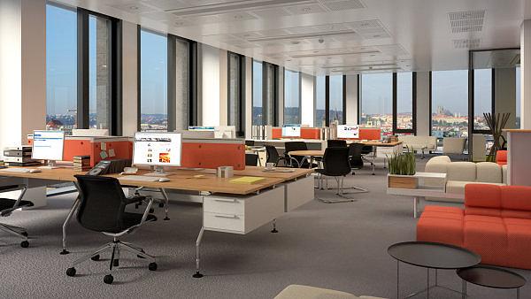 Lidé zohledňují lokalitu kanceláří při výběru zaměstnavatele