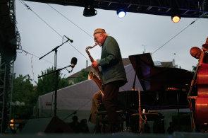 Festival Bohemia Jazz Fest zah�jil americk� saxofonista Lloyd, vzpom�nal i na koncert v Praze roku 1967