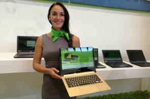 Acer jde do extrémů, představil nejtenčí ultrabooky na světě i krmítko pro kočky