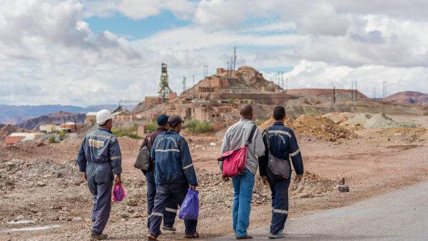 Kobaltový důl v Maroku