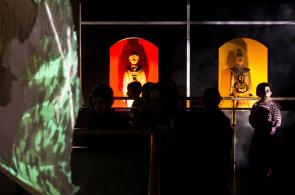 Divadlo Drak začalo chovat včely, nová multimediální výstava zde představuje imaginární včelí úl