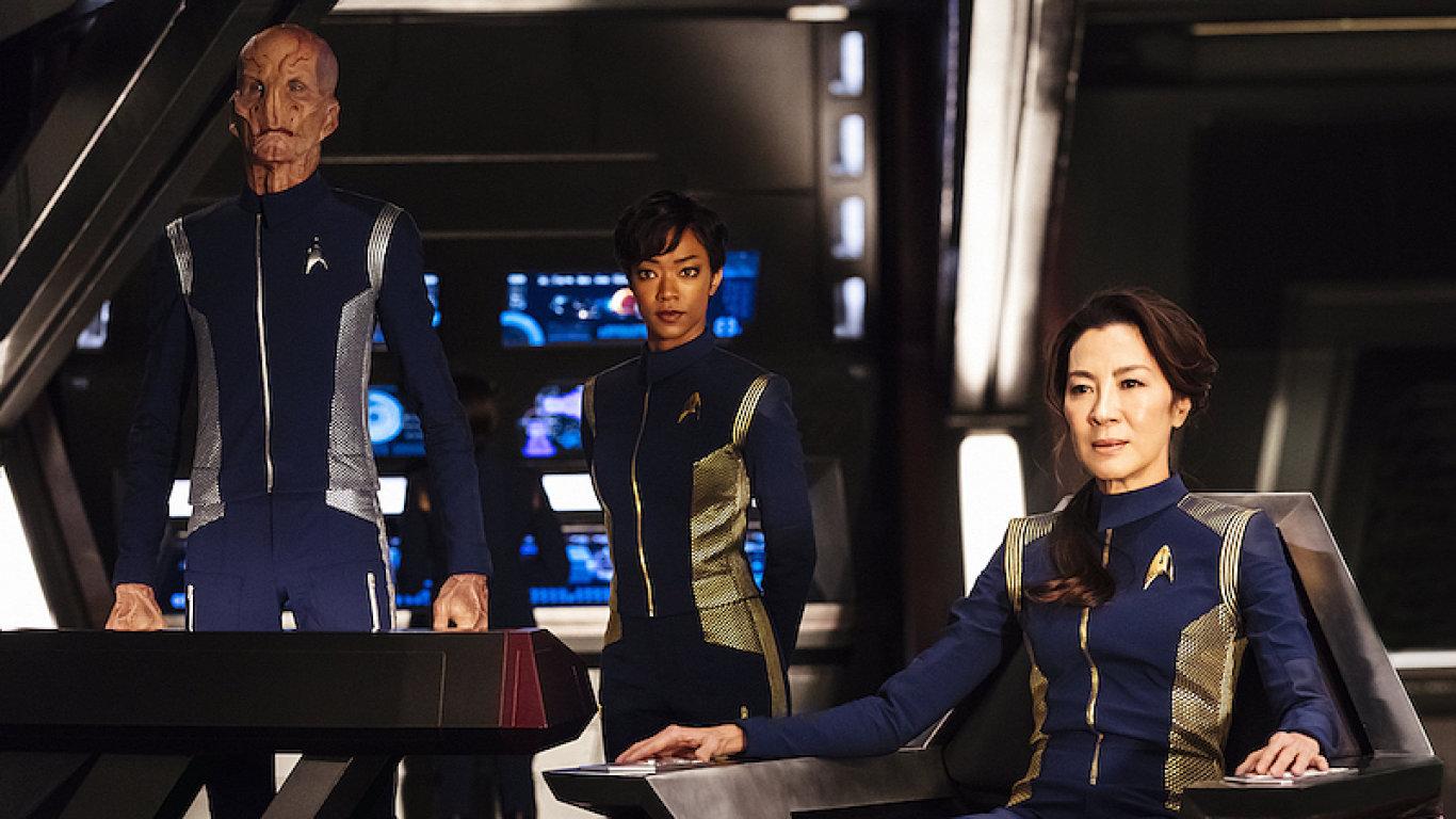 Snímek ze seriálu Star Trek: Discovery.