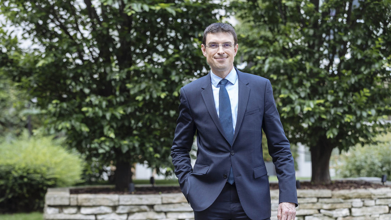 Petr Knap, vedoucí partner EY pro digitalizaci ve střední a jihovýchodní Evropě.