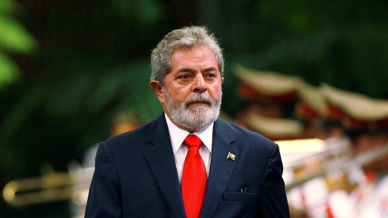 Bývalý brazilský prezident Luiz Inácio Lula da Silva.