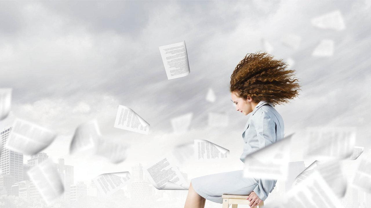Systémy pro správu dokumentů dokáží zvýšit efektivitu zaměstnanců (ilustrační foto).