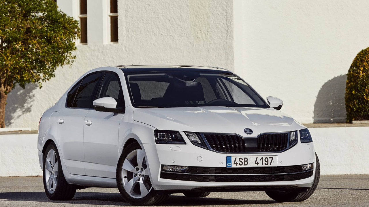Vůz Škoda Octavia.