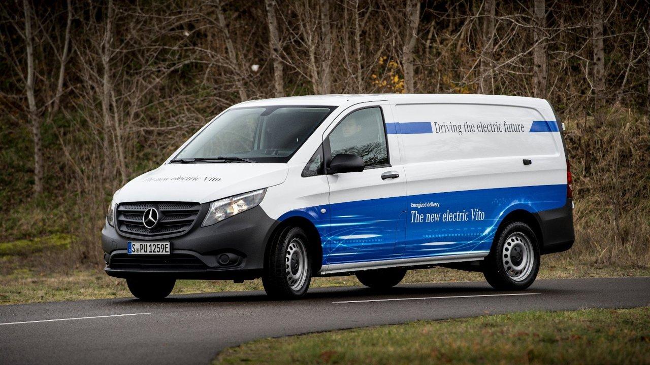 Mercedes-Benz představil eVito s elektrickým pohonem.