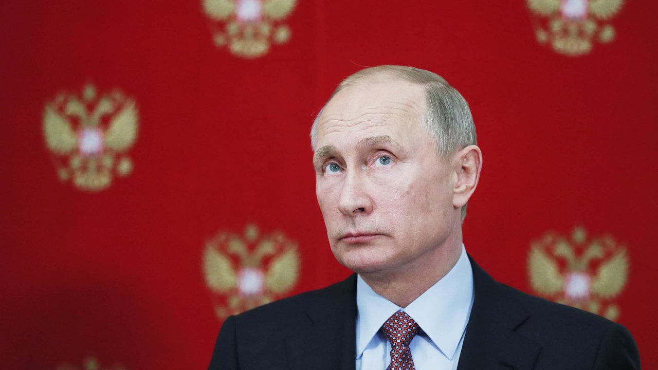 Vladimir Putin se stal počtvrté ruským prezidentem.