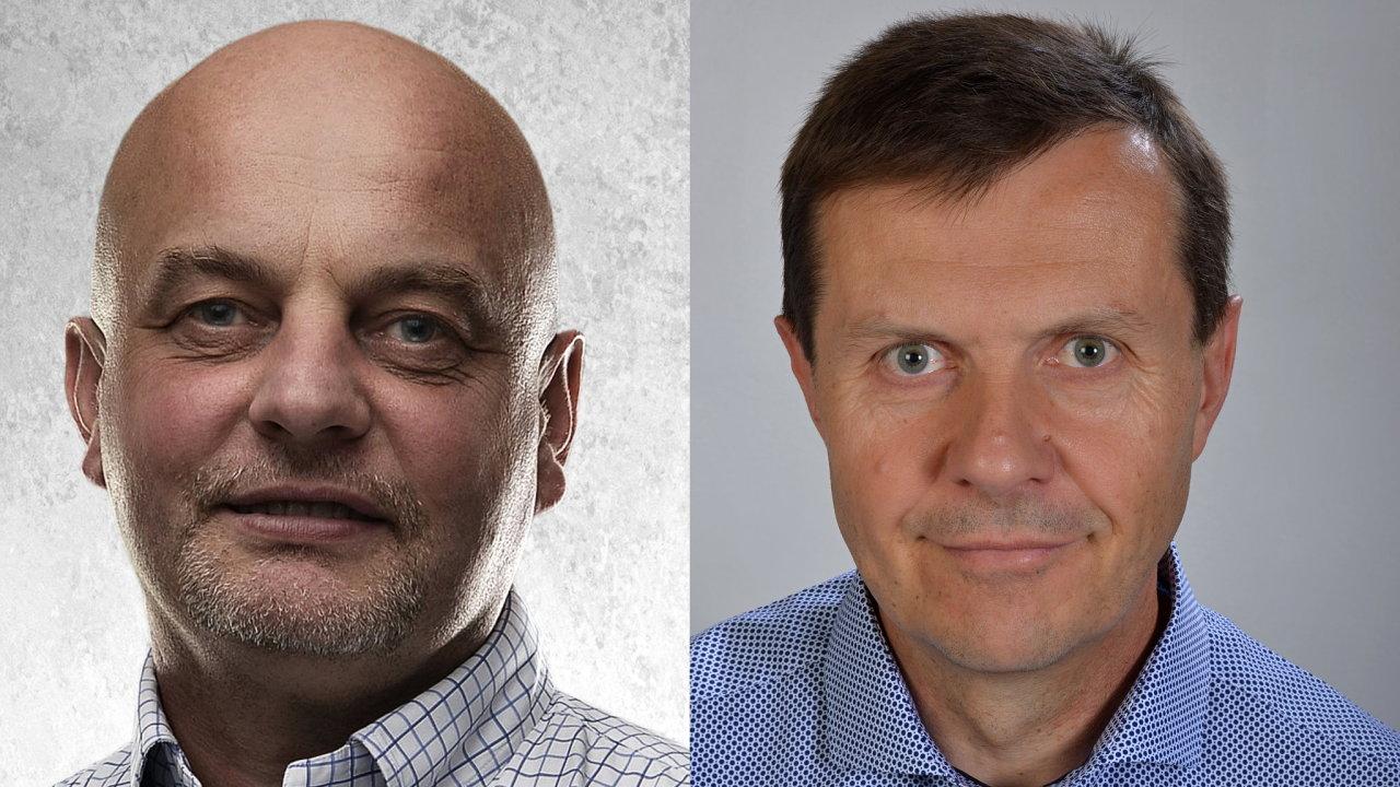 Aleš Navrátil a Michal Skaunic, asset management obchodních center CPI Property Group