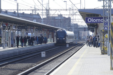 Kvůli nehodě nejezdí vlaky z Olomouce směrem na Šumperk a Opavu.