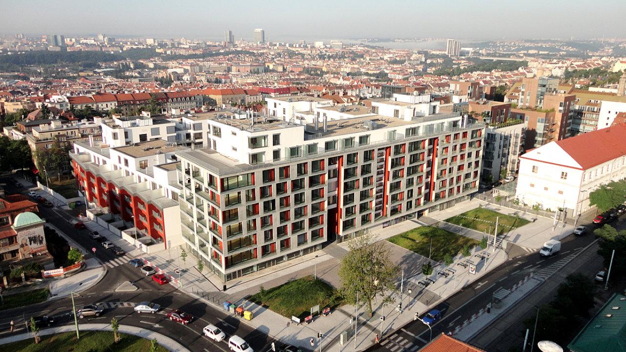 Developer Sekyra Group snížil ceny bytů vRezidenci Korunní vPraze-Vinohradech oproti původnímu plánu odesítky procent