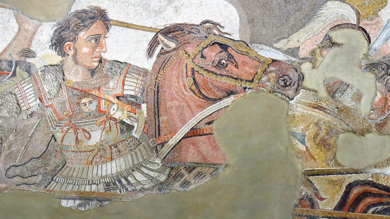 Vzorem pro budovatele západních impérií byl makedonský král Alexandr (356–323 před Kristem). Říši si vybojoval sám, doslova v čele svých vojsk. I v důsledku četných zranění zemřel už ve 32 letech.