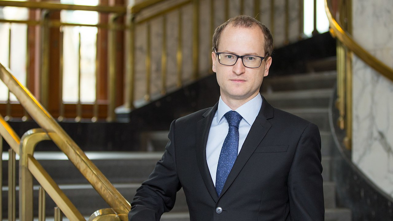Ekonom Tomáš Havránek z České národní banky