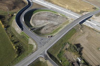 Nové, čtyřproudové dálnice by měly propojit Plzeň s Táborem a Humpolcem. Ilustrační fotografie