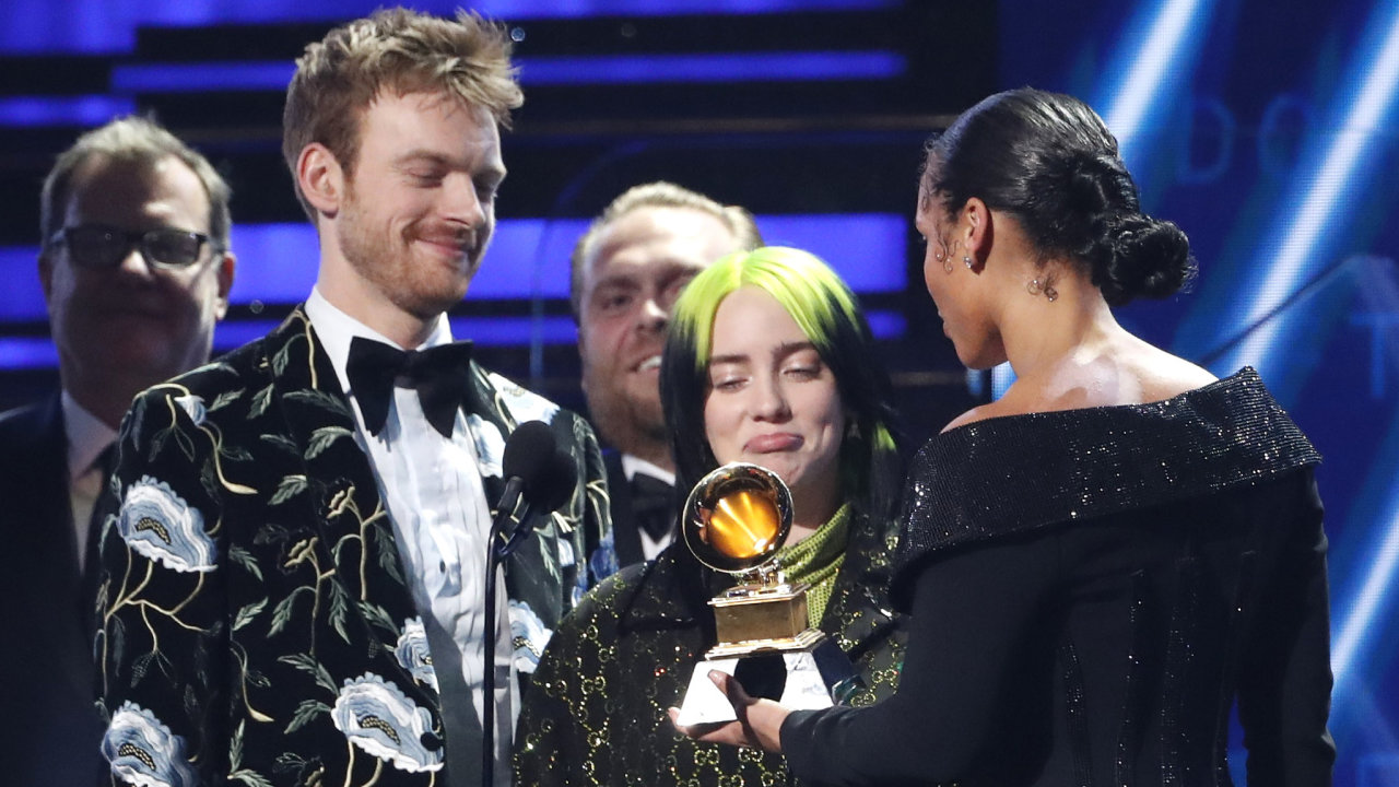 Billie Elish Grammy