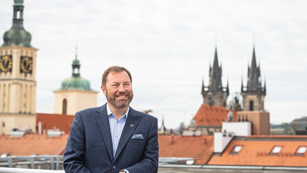 Generální ředitel Burzy cenných papírů Praha Petr Koblic