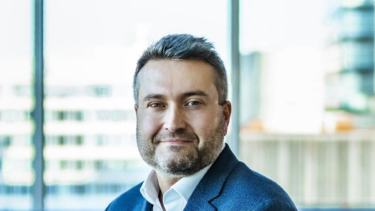 Hlavní ekonom České spořitelny David Navrátil