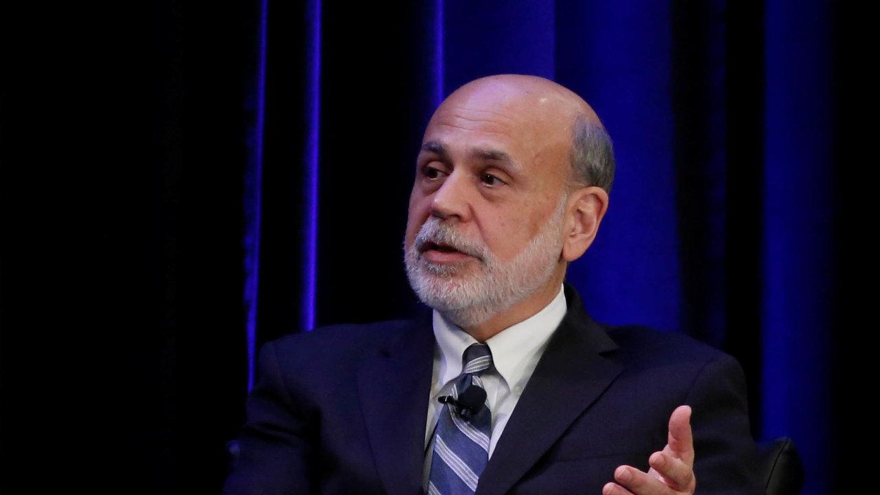 Bývalý šéf Fedu Ben Bernanke