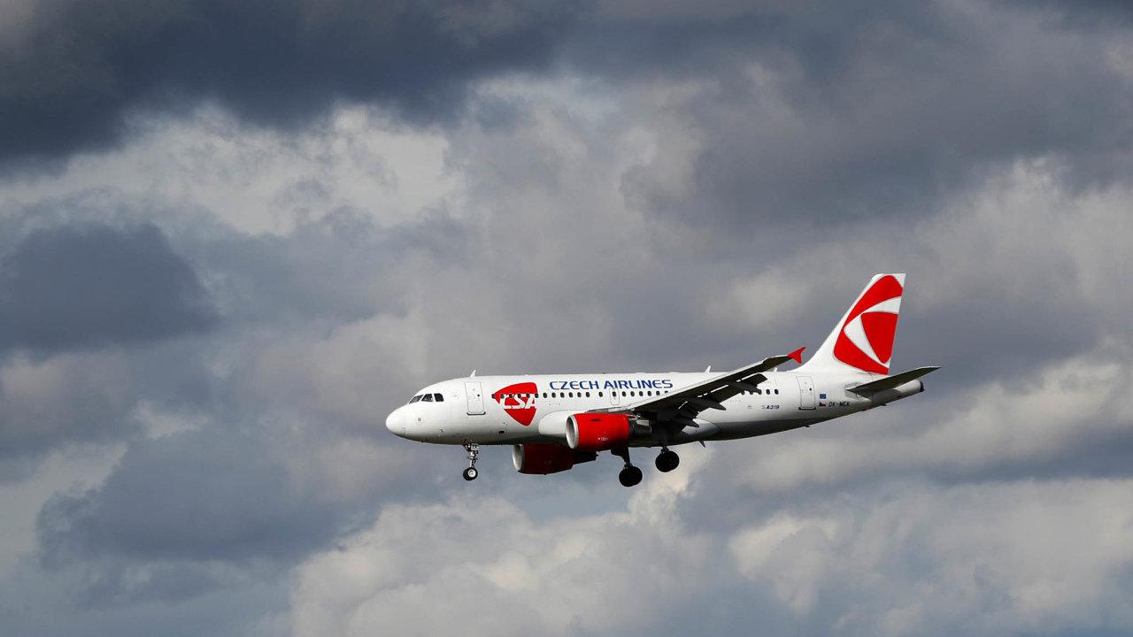 Zpátky vevzduchu. ČSA jsou jedním zprvních dopravců obnovujících letecké linky zPrahy.