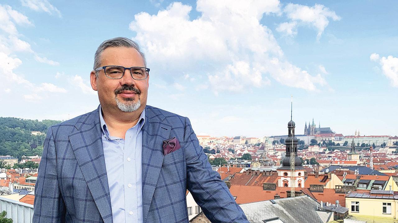 Ředitel aeqoom technologies Radek Hradil