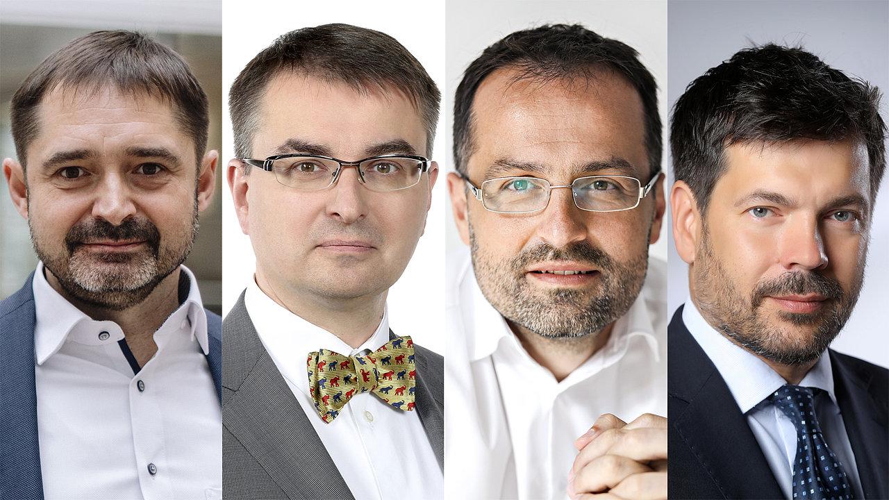 Odpovídat budou Tomáš Raška, Petr Smutný, Jiří Tomola a Jaroslav Schönfeld.
