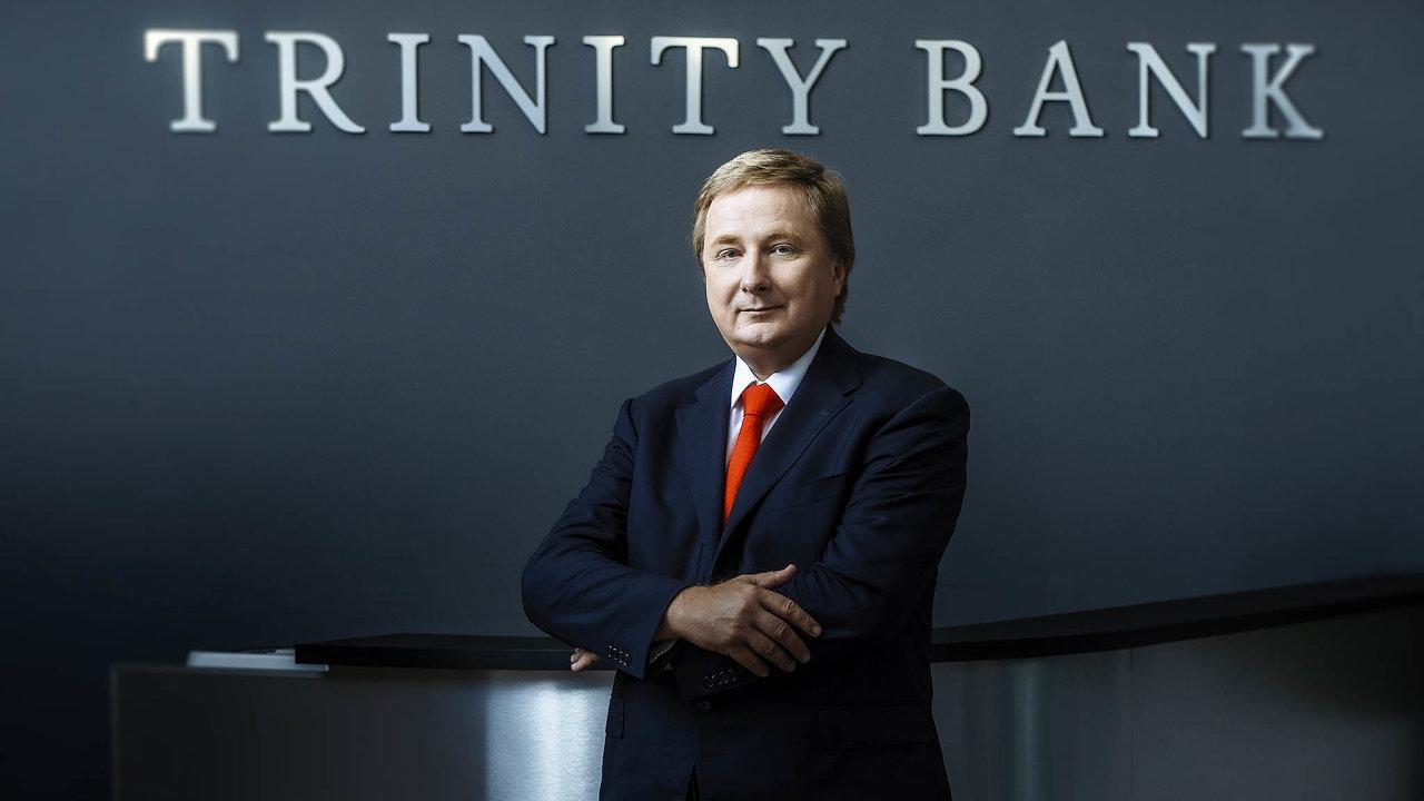 Zakladatel Trinity Bank Radomír Lapčík je stále jediným vlastníkem SAB Finance, skupiny, která se specializuje nadevizové transakce pro firmy.