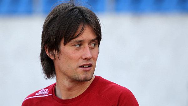 Fotbalový reprezentant Tomáš Rosický.