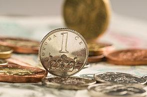 Česká měna, ilustrační foto