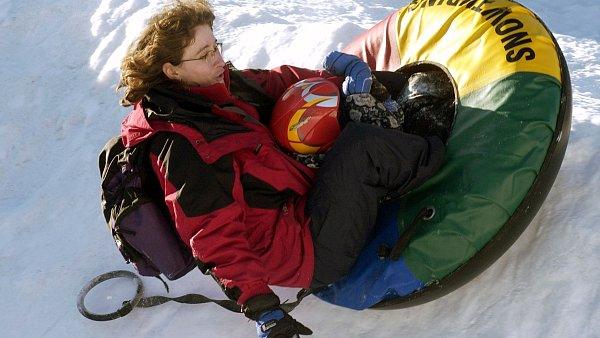 Snowtubing: jednu jízdu pořídíte už od dvaceti korun.