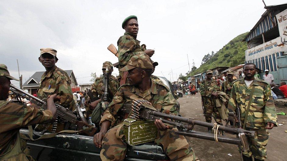 Afričtí rebelové - ilustrační foto.