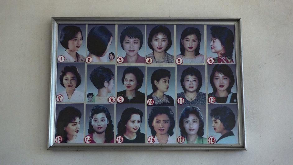 Severokorejské účesy