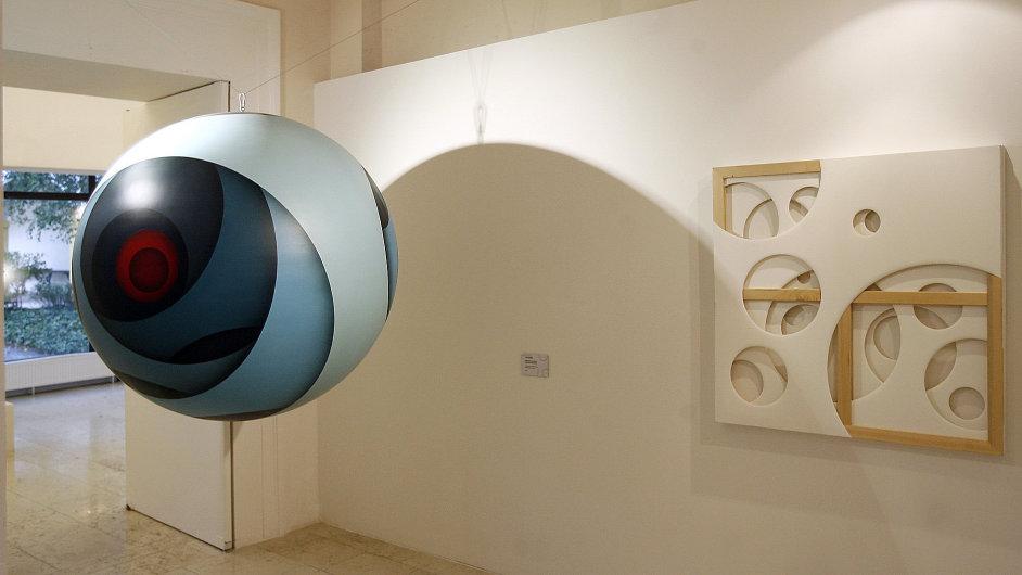 Instalace Jana Kalába na výstavě Et cetera