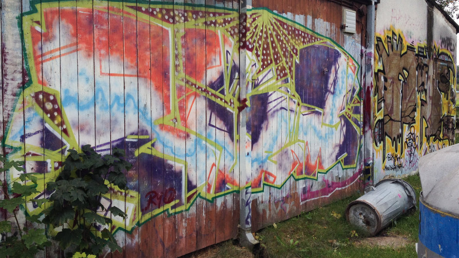 Graffiti v Břeclavi