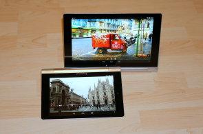 Lenovo Yoga Tablet 10 a 8: Nejšikovnější tablety na trhu by si zasloužily lepší displej