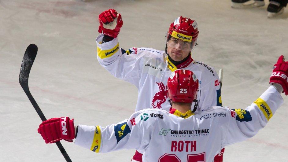 Hokejisté Třince, Jiří Polanský a Vladimír Roth