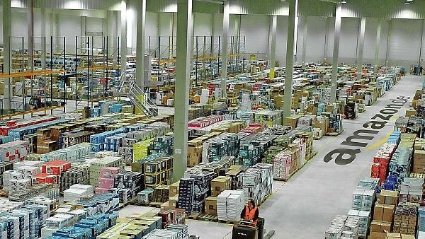 Distribu�n� centrum Amazonu