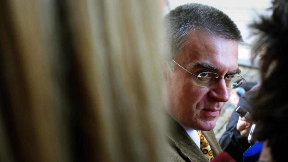 Bývalý ministr dopravy Zdeněk Žák