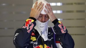 Sebastian Vettel p�i Velk� cen� Austr�lie se zvukem motor� spokojen� nebyl.