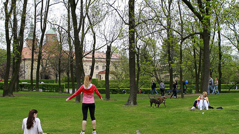 1. máj na Petříně