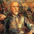 �st�edn�m bodem Kokoschkovy v�stavy bude portr�t Tom�e Garrigua Masaryka.