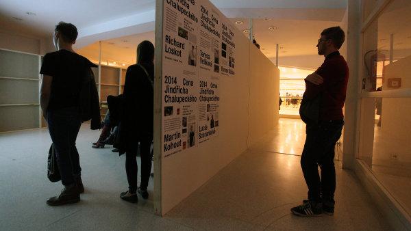 Výstava finalistů Ceny Jindřicha Chalupeckého ve Veletržním paláci