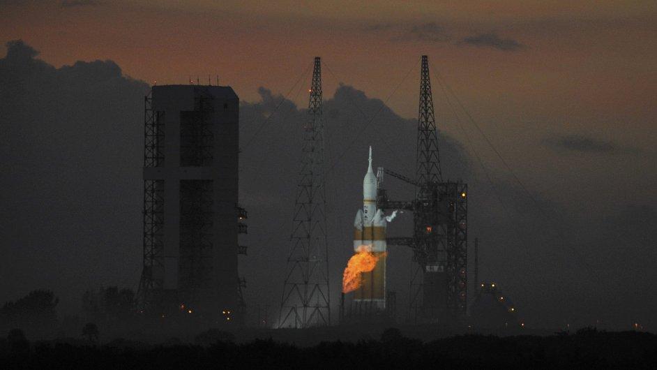 Start testovacího letu Orion
