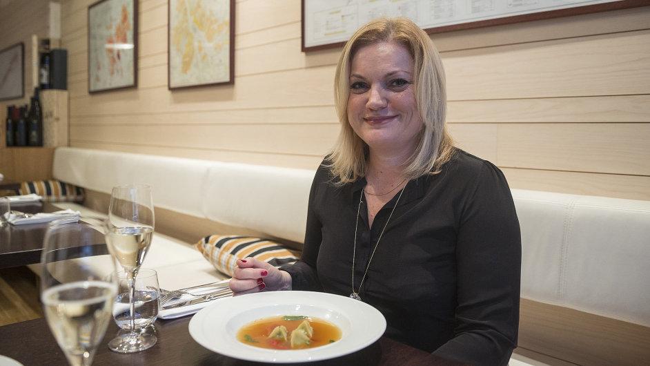 Česká šéfka společnosti Kärcher Milada Skutilová, jedna ze dvou žen  ve vyšším managementu celé nadnárodní firmy